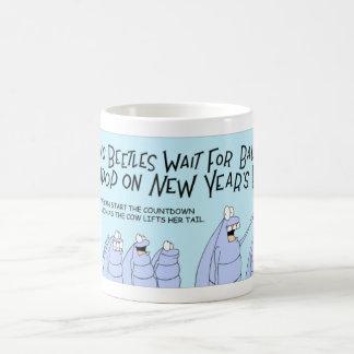 Dung Beetle New Years Eve Coffee Mug