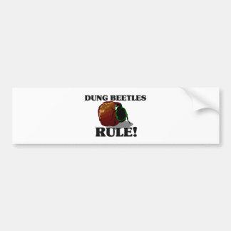 DUNG BEETLES Rule! Bumper Sticker