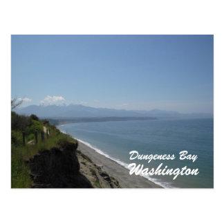 Dungeness Bay, Dungeness Bay, Washington Postcard