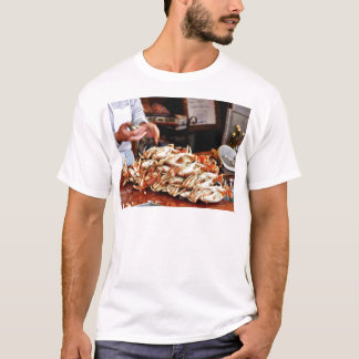 Dungeness Crab At Fishermans Wharf In San Francisc T-Shirt