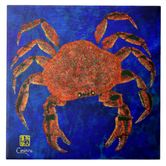 Dungeness Crab L - Large Ceramic Tile