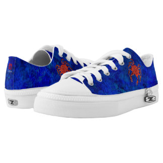 Dungeness Crab - Low Top Sneakers