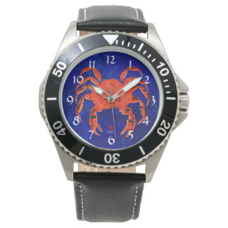 Dungeness Crab - Stainless Steel Men's Watch