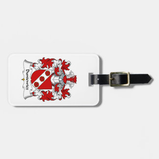 Duniewicz Family Crest Luggage Tag