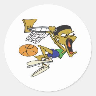 Dunk Round Sticker