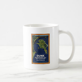 Dunk The Romantic Isle - Great Barrier Coral Reef Classic White Coffee Mug