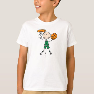 Dunking Boy Basketball Shirt