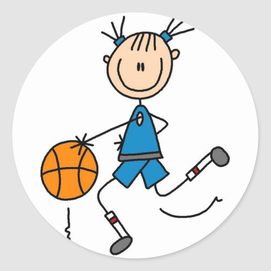 Dunking The Basketball Sticker
