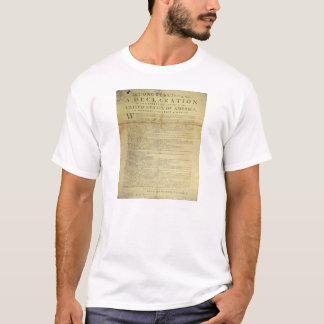 Dunlap Broadside Declaration of Independence 1774 T-Shirt