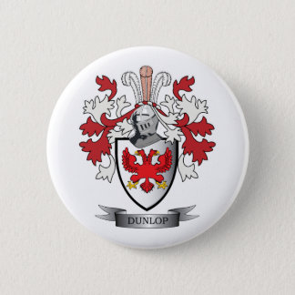 Dunlop Family Crest Coat of Arms 2 Inch Round Button