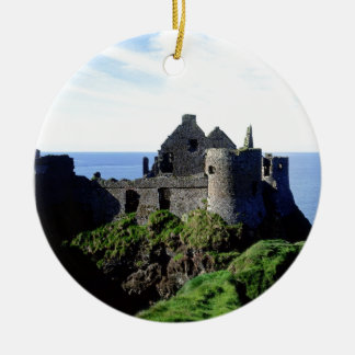 Dunluce Castle Ceramic Ornament