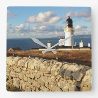 Dunnet Head Square Wall Clock