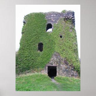 Dunollie Castle Oban Bay, Scotland Poster