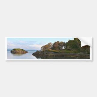Dunollie Castle, Oban, Scotland Bumper Sticker