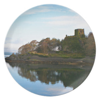 Dunollie Castle, Oban, Scotland Plate