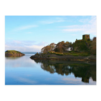 Dunollie Castle, Oban, Scotland Postcard