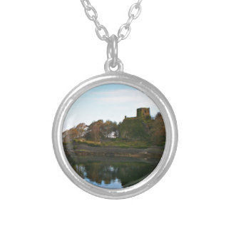 Dunollie Castle, Oban, Scotland Silver Plated Necklace