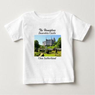 Dunrobin Castle – Clan Sutherland Baby T-Shirt