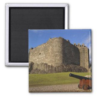 Dunstaffnage Castle, Argyll and Bute, Scotland Square Magnet