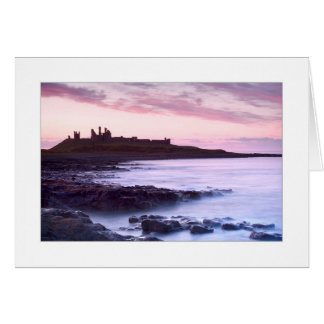 Dunstanburgh Castle, Northumberland greetings card