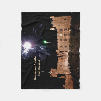 Dunvegan Castle – Fireworks Fleece Blanket