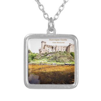 Dunvegan Castle Silver Plated Necklace
