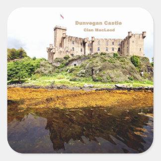 Dunvegan Castle Square Sticker