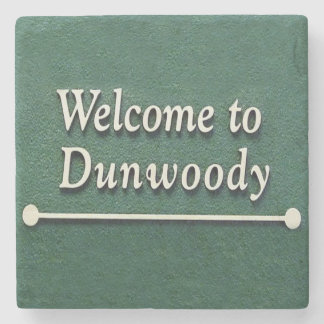 Dunwoody Welcome, Atlanta,Georgia, Marble Coasters
