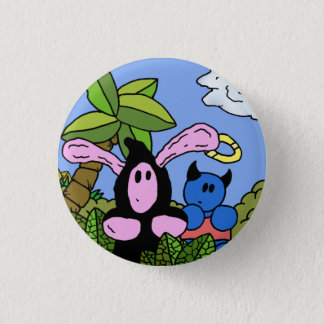 Duo Badge 1 Inch Round Button