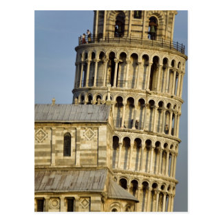 Duomo and Leaning Tower, Pisa, Tuscany, Italy Postcard