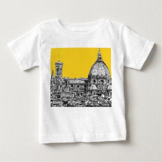 Duomo Florence in orange Tshirts