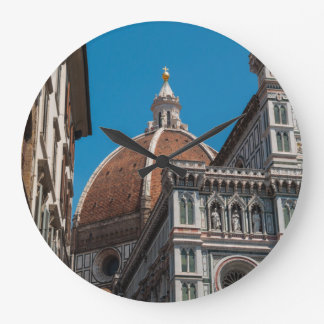 Duomo in Florence Italy Large Clock