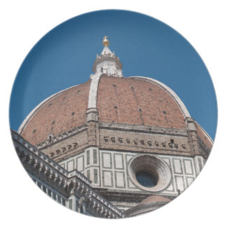 Duomo in Florence Italy Plate