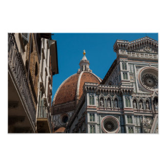 Duomo in Florence Italy Poster