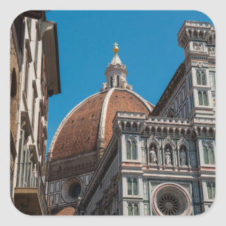 Duomo in Florence Italy Square Sticker