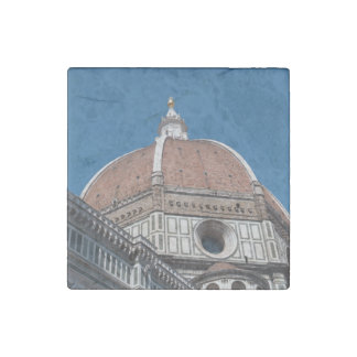 Duomo in Florence Italy Stone Magnets