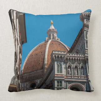 Duomo in Florence Italy Throw Pillow