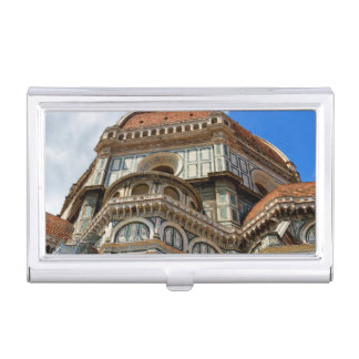 Duomo, in Florence, Tuscany, Italy Business Card Holder