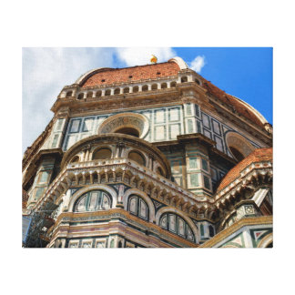 Duomo, in Florence, Tuscany, Italy Canvas Print