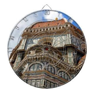 Duomo, in Florence, Tuscany, Italy Dartboard