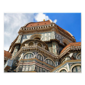 Duomo, in Florence, Tuscany, Italy Photo Print