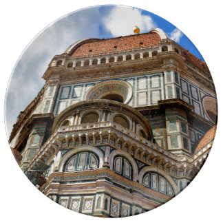 Duomo, in Florence, Tuscany, Italy Plate