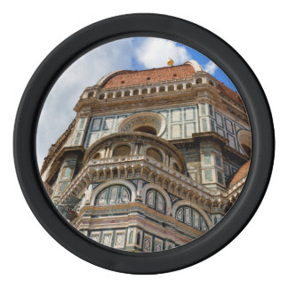 Duomo, in Florence, Tuscany, Italy Poker Chips