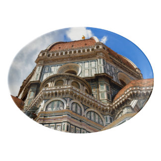 Duomo, in Florence, Tuscany, Italy Porcelain Serving Platter