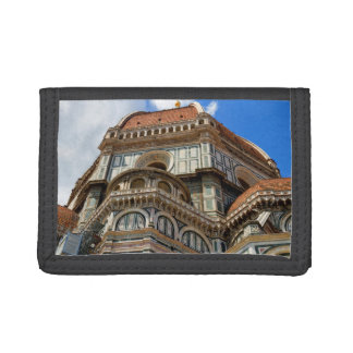 Duomo, in Florence, Tuscany, Italy Tri-fold Wallet