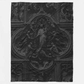 Duomo Milan Cathedral Mary Fleece Blanket