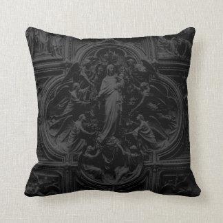 Duomo of Milan (Cathedral) door detail 02 Throw Pillow
