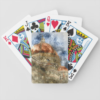 Duomo Santa Maria Del Fiore and Campanile Bicycle Playing Cards
