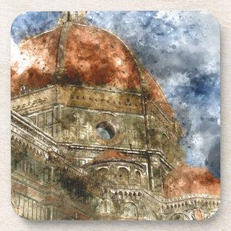 Duomo Santa Maria Del Fiore and Campanile Drink Coaster