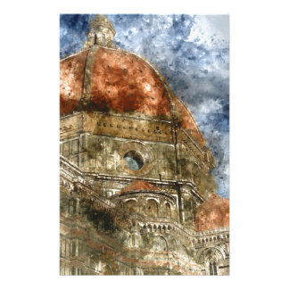 Duomo Santa Maria Del Fiore and Campanile Stationery